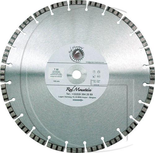 Diamant cutting disc